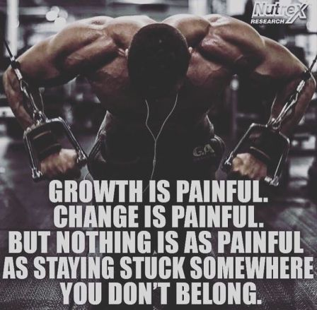 Pain and Growth